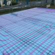 蓄熱式床冷暖房システムポリエチレン管配管