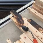 土台敷きと防蟻
