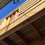 ウッドデッキ塗装の旧塗膜除去作業 字幕解説付き動画を作成しました
