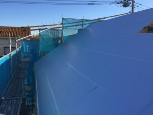 外張り断熱材屋根部 t=100mm