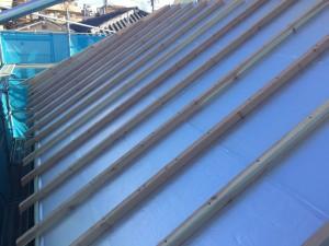 屋根通気垂木