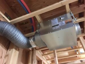 2階床下エアコンアシスト送風機