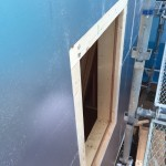 屋根・壁外張り断熱工法での棟換気部