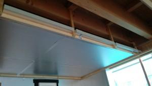 2階床下エアコン気道内断熱処理