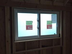 防火樹脂窓パティオドア取り付け