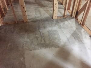 蓄熱コンクリートプライマー処理