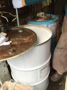 2液型現場発泡断熱材攪拌
