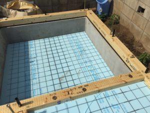 蓄熱式床暖房システム UB底部