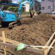 根切り 掘削土