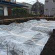 基礎工事 防湿シート