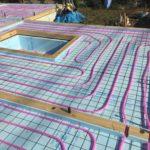 「蓄熱式床暖房システム導入JV」、現場作業が始まりました