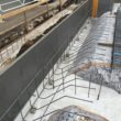 土間床基礎、鉄筋配筋作業開始