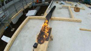土台桧芯持ち406 ダブル炭化