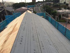 屋根下葺き