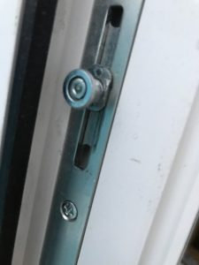 樹脂フレームトリプルガラステラスドア障子側