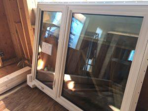 樹脂フレームトリプルガラス窓取付前