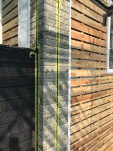 外壁左官下地と窯業系サイディング