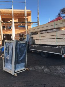 DAIKINデシカホームエア 調湿・換気ユニット吊り込み込み段取り
