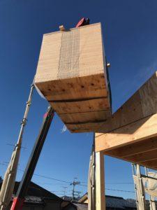 ラーチ合板 3×6尺 12mm吊り込み