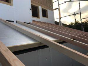 屋根通気工法 60mm通気層