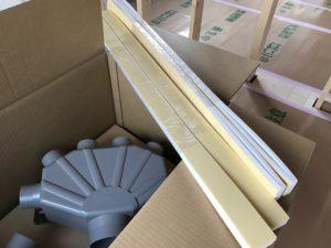 LIXIL純正 断熱テープと樹脂6分岐チャンバー