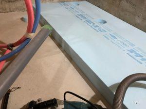 基礎内断熱 断熱材3種b 計100mm厚
