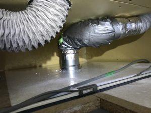 SB換気 ファイヤーダンパー付き排気グリル