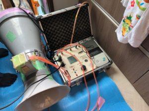 気密測定機器